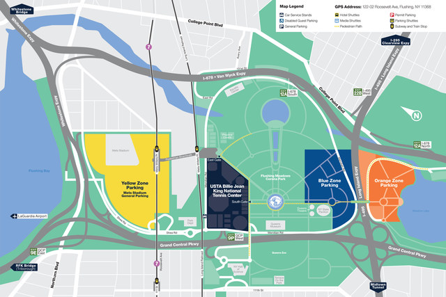 2017 Transportation and Parking Map