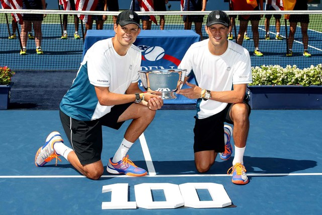 50 Moments: No. 42 - Bryans win 100th career title