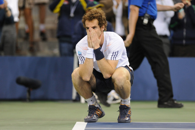 Andy Murray won his first major title at the 2012 US Open.