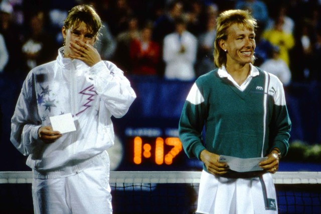50 Moments: No. 38 - Triple crown for Navratilova