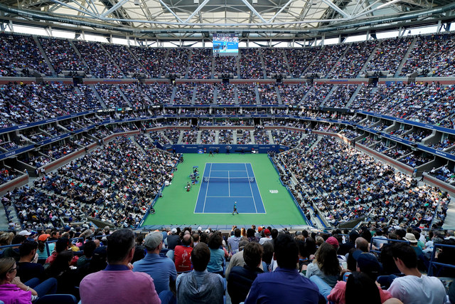 September 10, 2017 - Rafael Nadal in action against Kevin Anderson in the Men's Singles Final at the 2017 US Open.